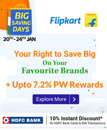 BIG SAVING DAYS Live | Upto 80% Off on Fashion, Mobiles, Electronics, Furniture & More + Extra 10% Off via HDFC Bank Card & EMI Transactions (20th-24th Jan)