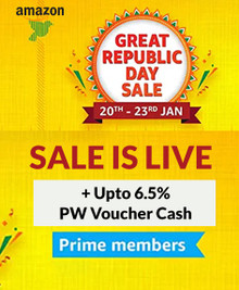 GREAT REPUBLIC SALE Live For PRIME MEMBERS| Upto 80% Off + 10% Instant Discount via SBI Credit Card (20th-23rd Jan)