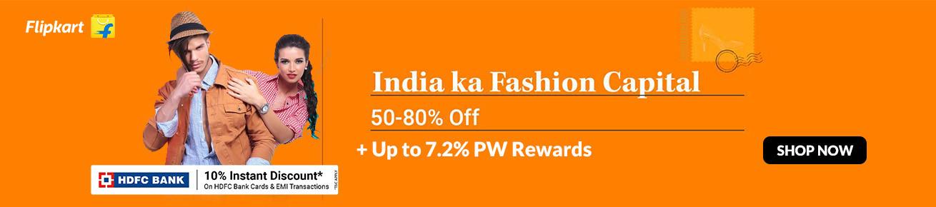 Flipkart Republic DaySale on Men's Fashion (JAnuary)