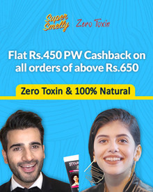 Flat Rs.450 PW Cashback + Extra 20% Off on Orders of Rs.700 Above