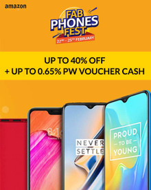 FAB PHONES FEST | Upto 40% Off + Extra 10% Kotak Discount + Exchange & No Cost EMI Offer
