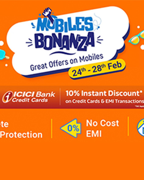 MOBILES BONANZA | Upto Rs.16,000 Off + Extra 10% ICICI Off + No Cost EMI & Exchange