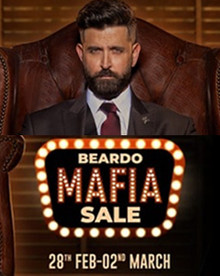 The Mafia Sale | Upto 50% Off on All Men's Grooming Products