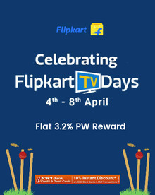TV DAYS :- Upto 65% Off on Top Brands TVs + 10% Instant Discount using ICICI Cards