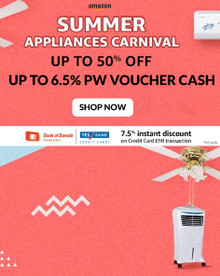 Get up to 50% Off Washing machine, Refrigerators, ACs & more