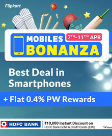 Mobiles Bonanza | Up to 40% Off on Mobiles + Up to 10000 Off using HDFC Debit & Credit cards EMI