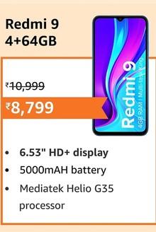Redmi 9 4+64GB