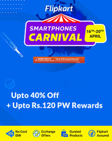 Smartphones Carnival | Up to 40% Off on Mobiles + Up to 750 Off on ICICI bank cards & Emi Transactions