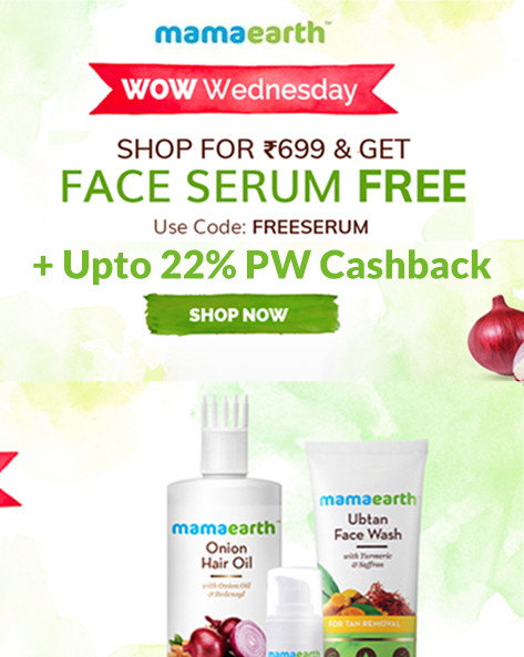 WOW WEDNESDAY SALE | Shop for 699 & Get Free Face Serum