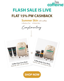 FLASH SALE | Upto 20% Off + Extra 15% Off + FREE Coffee Face Care Shots