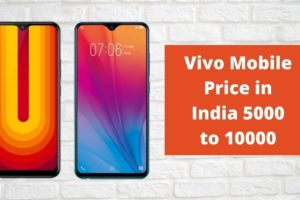 Vivo Mobile Phone Price List