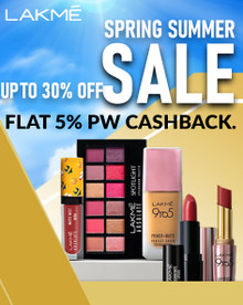 SUMMER SALE  Upto 30% + Extra 15% Off on All Lakme Products
