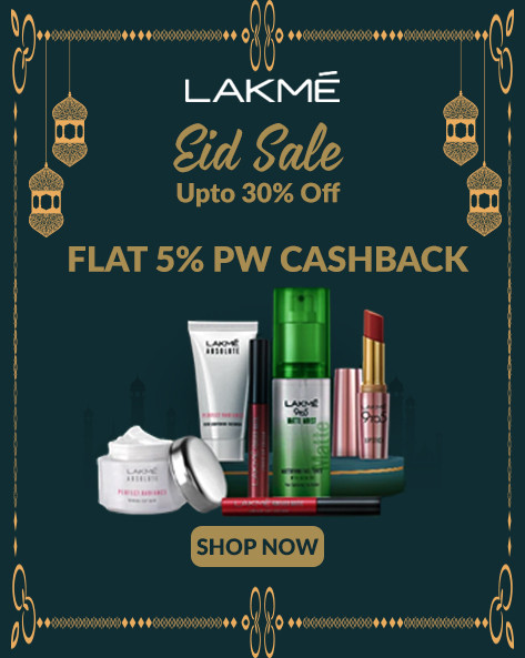EID SALE| Upto 30% + Extra 15% Off on All Lakme Products
