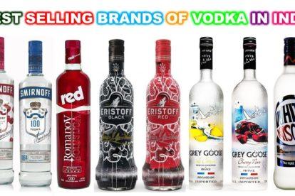 Top Vodka Brands In India