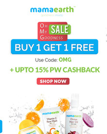 OH MY GOODNESS SALE   Buy 1 Get 1 Free on Mamaearth Products