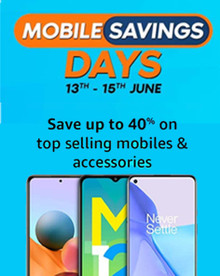 MOBILE SAVING DAYS | Upto 40% Off + Extra 10% HDFC Off + Exchange & No Cost EMI Offers