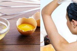 Egg for Hair Mask