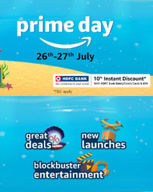 Subscribe for 01 Year Prime Membership and Get 10% Cashback from Amazon on your Next Shopping on Prime Day (26th-27th July)