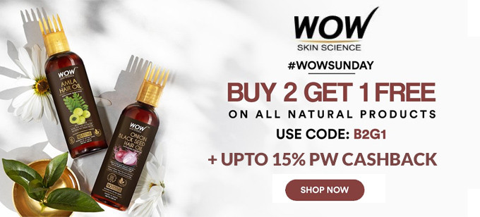 WOW Skin Science Offers
