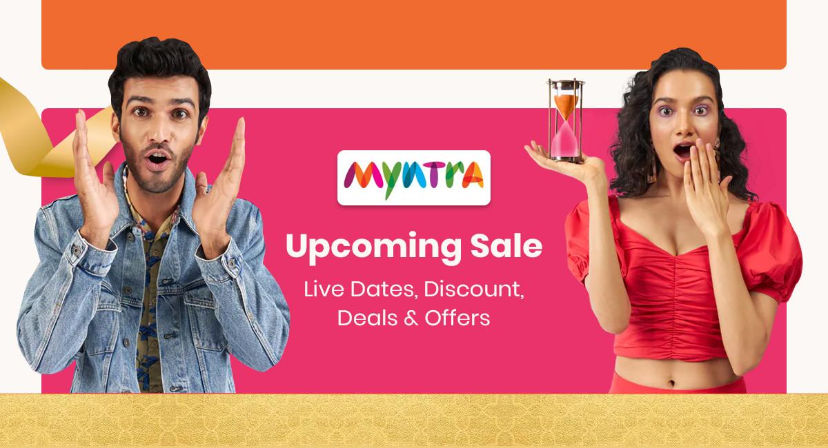 Myntra Upcoming Sale 2021