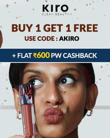 SUPER WEEKEND FLASH SALE   Buy 01 Get 01 FREE + Flat Rs.600 PW Cashback