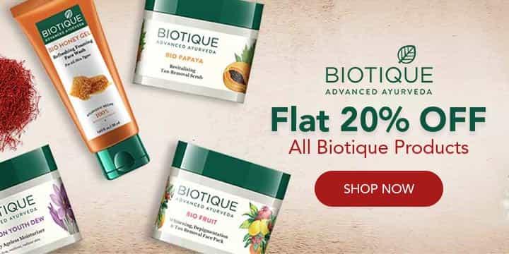 Biotique Coupons