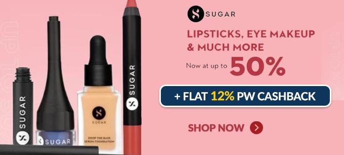 Sugar Cosmetics Offers