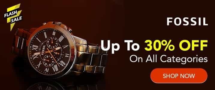 Fossil Promo Code India