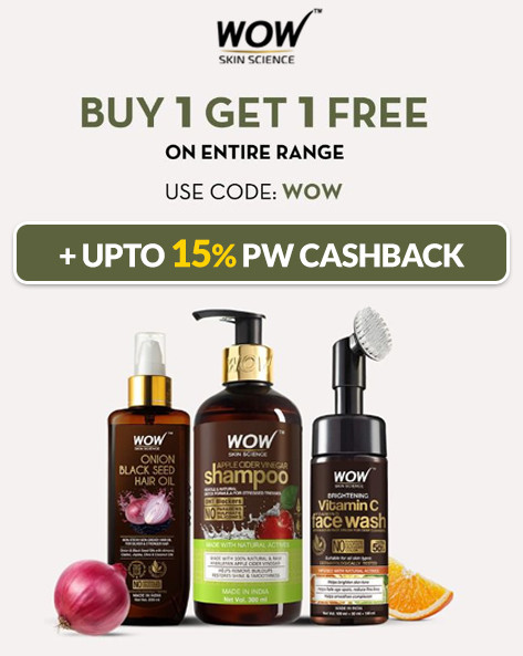 THE WOWSOME SALE | Buy 1 Get 1 Free On Entire Range + Hand Cream Free On Every Order