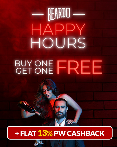 BEARDO HAPPY HOUR SALE | Buy 1 & Get 1 FREE on All Products & Chance To Win iPhone 13