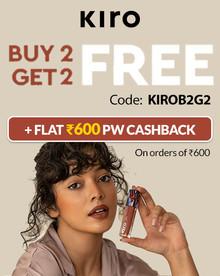 KIRO BEAUTY FLASH SALE | Buy 02 Get 02 FREE + Flat Rs.600 PW Cashback