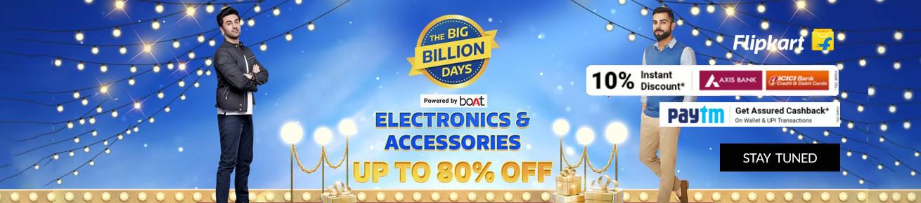 Big Billion Days Sale Flipkart