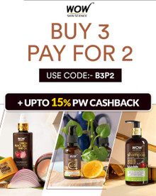 WOW EXCLUSIVE OFFER | Buy 03 Pay for 02 on WOW Skin Products