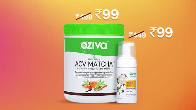 OZiva 99 Tuesdays | Nutrition & Beauty Products at Rs.99 Only